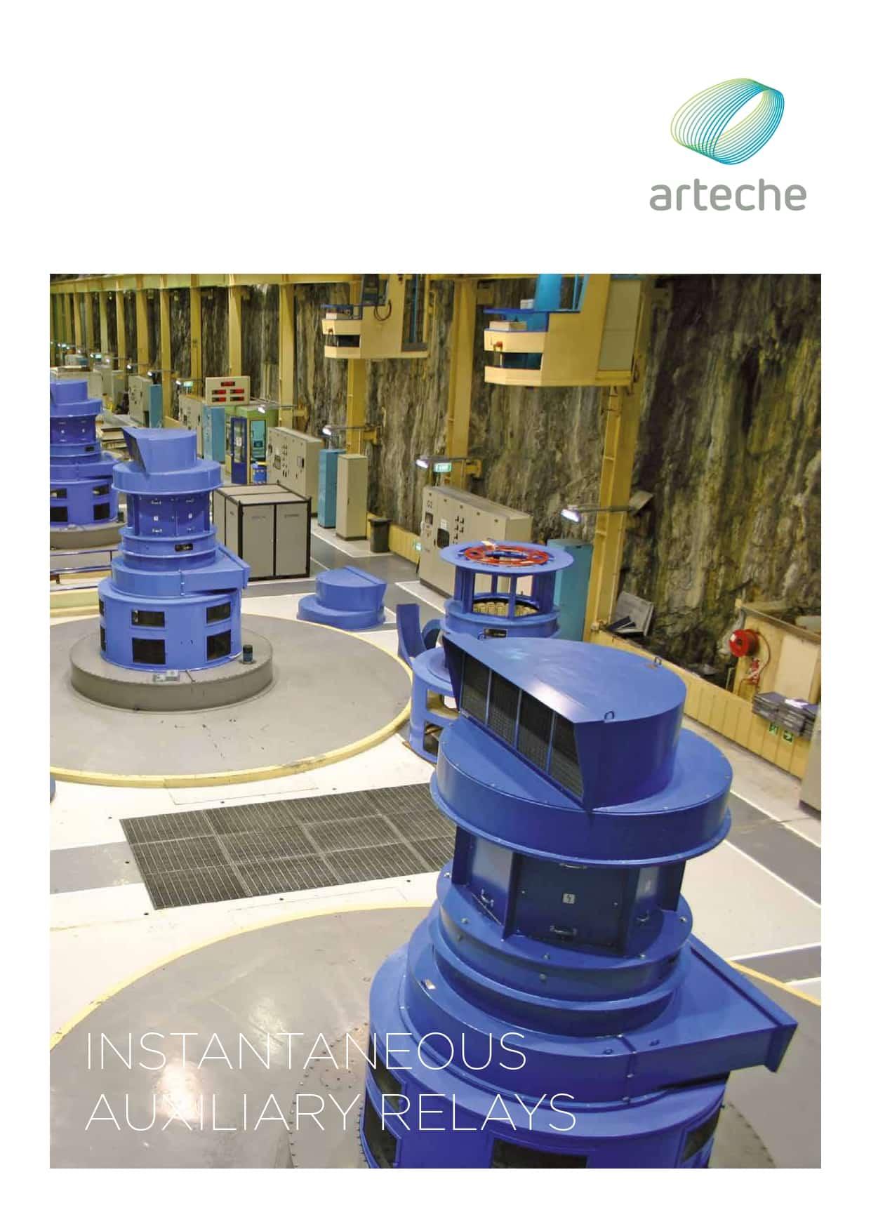ARTECHE CT INSTANTANEOUS RELAYS EN