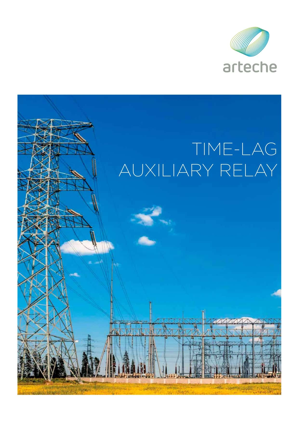 ARTECHE CT TIME LAG AUXILIARY RELAY EN