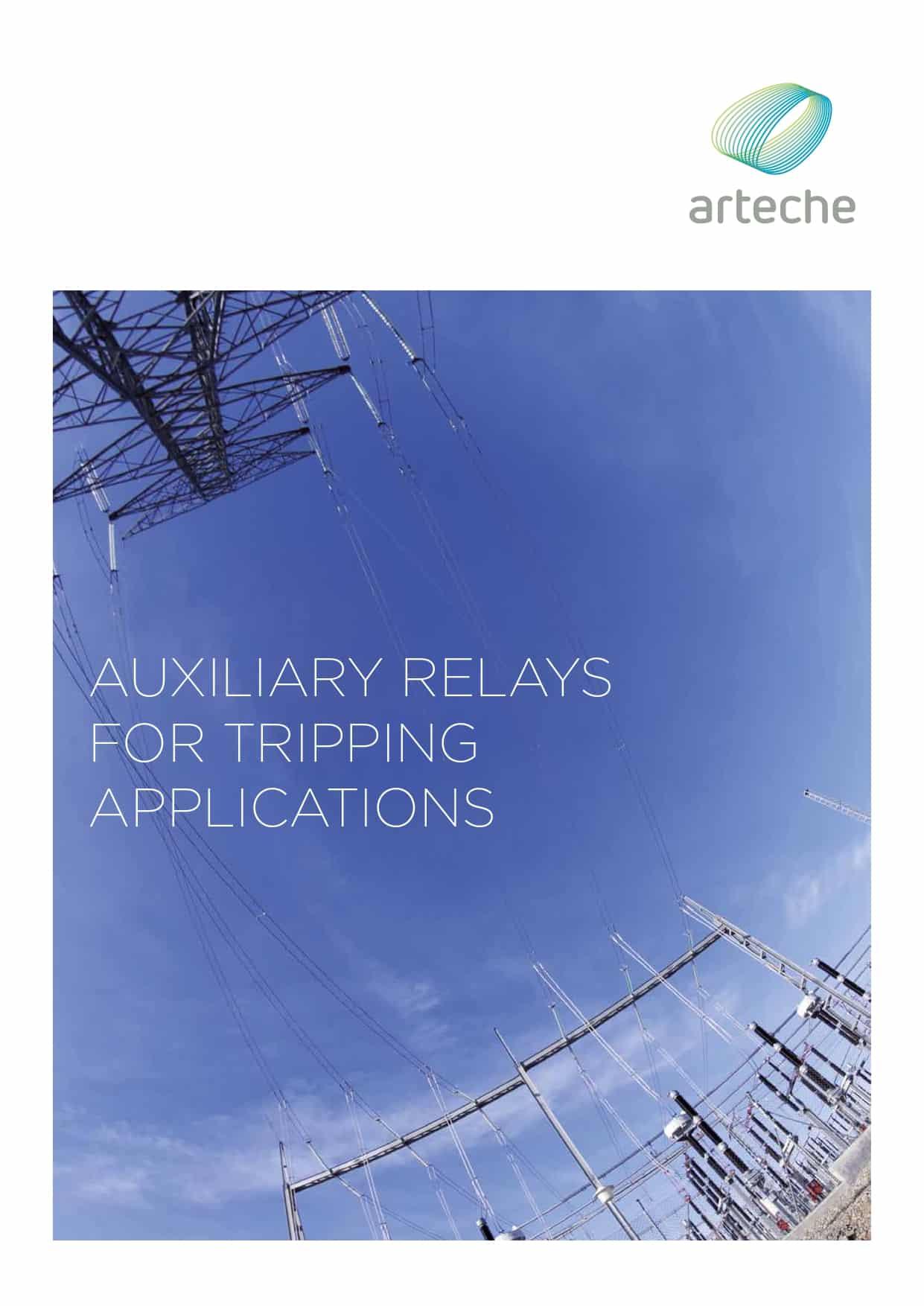 ARTECHE CT TRIPPING RELAYS EN