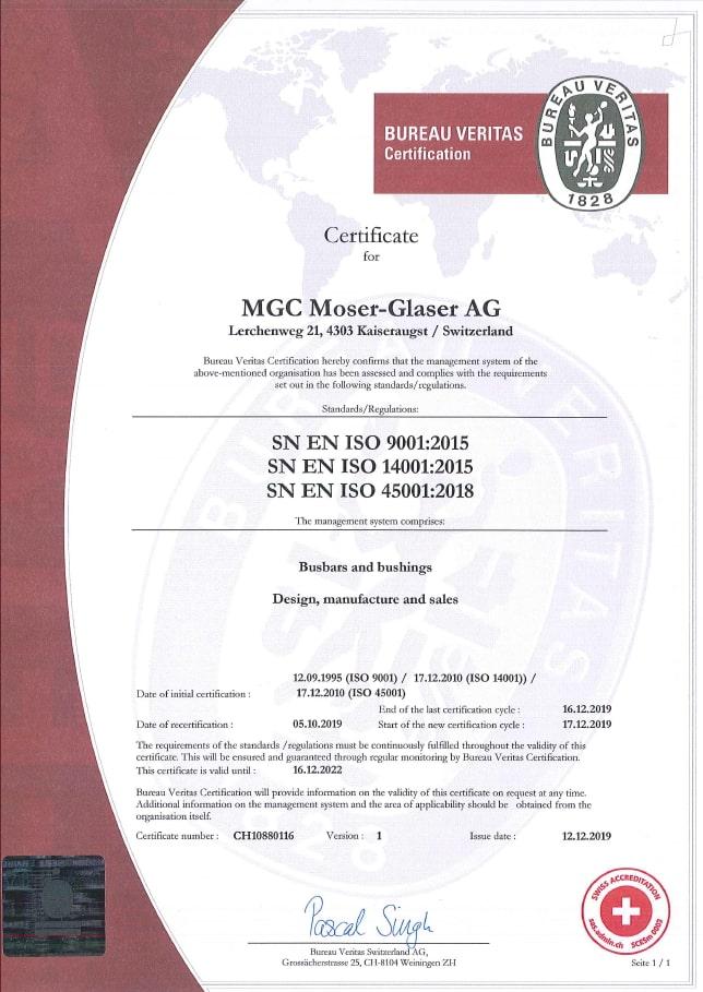MGC ISO
