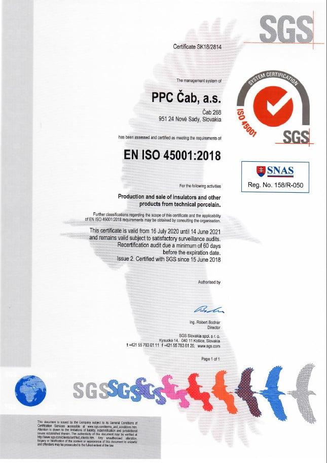 PPC ISO45001