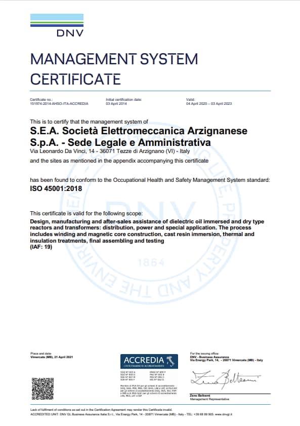 SEA ISO45000